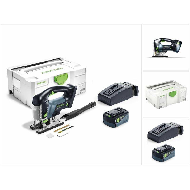 Festool PSBC 420 Li 5,2 EBI-Plus CARVEX 18 V Scie sauteuse sans fil + Coffret