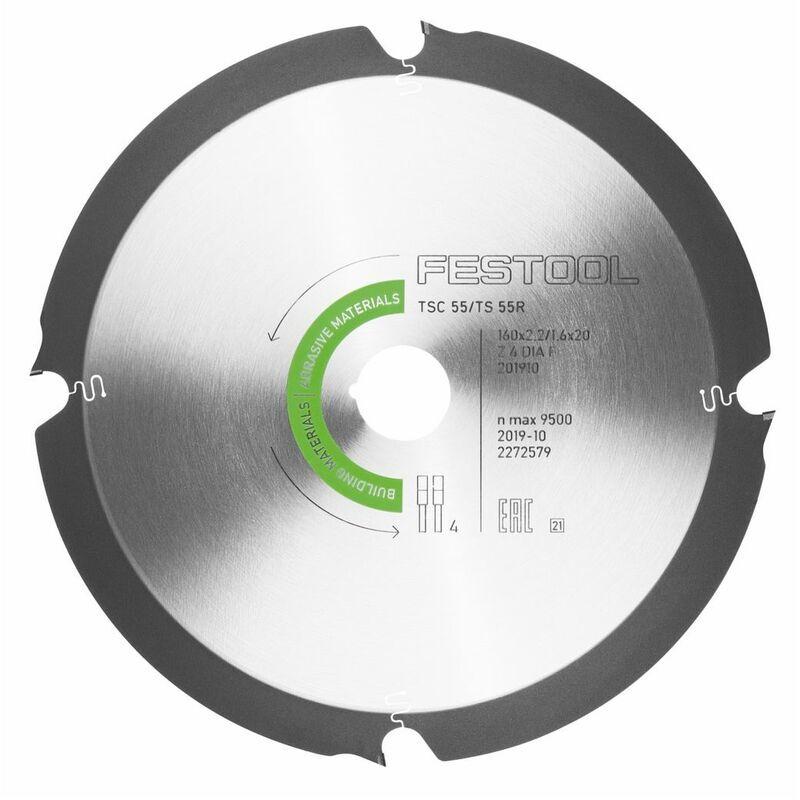 Festool TSC 55 REB-Li Scie plongeante sans fil 18 / 36 V + Systainer + Lame de