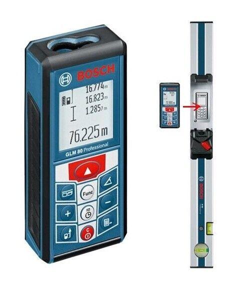 BOSCH Télémètre laser 80m + niveau R60 = GLM 80+R60 - 0601072301