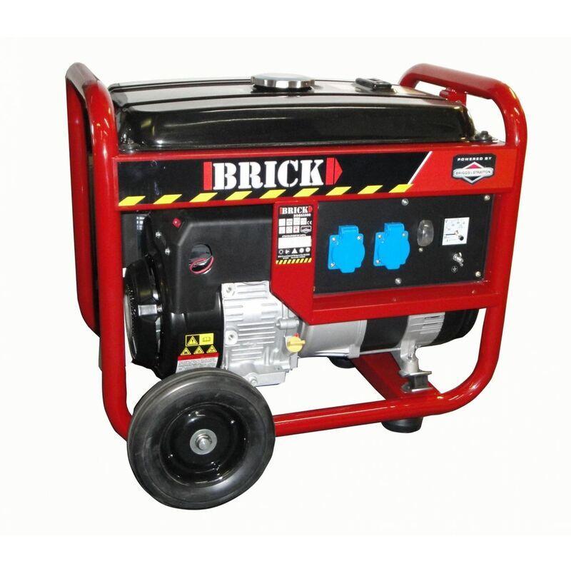 BRICK Groupe électrogène 3000W 12H - Briggs & Stratton
