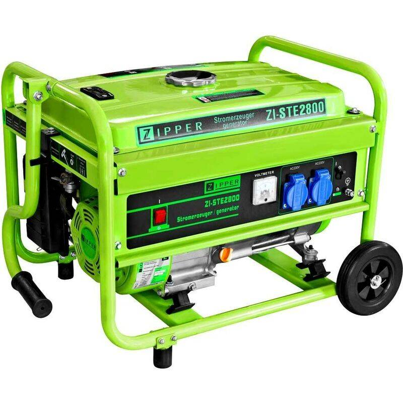Zipper Maschinen - GROUPE ELECTROGENE INVERTER PORTABLE 2800W 2X230V ZIPPER
