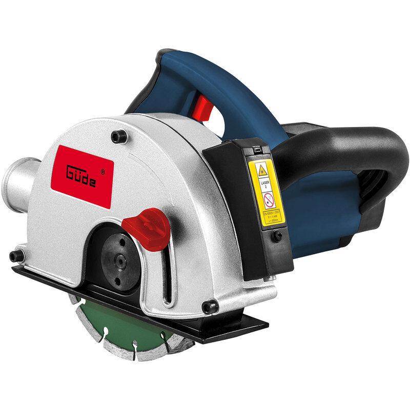 GUEDE Rainureuse à béton guide laser 1700 W