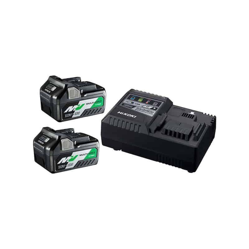 HIKOKI (HITACHI) HiKOKI Booster Pack 36V BSL36A18x2 + chargeur UC18YSL3 - UC18YSL3WEZ