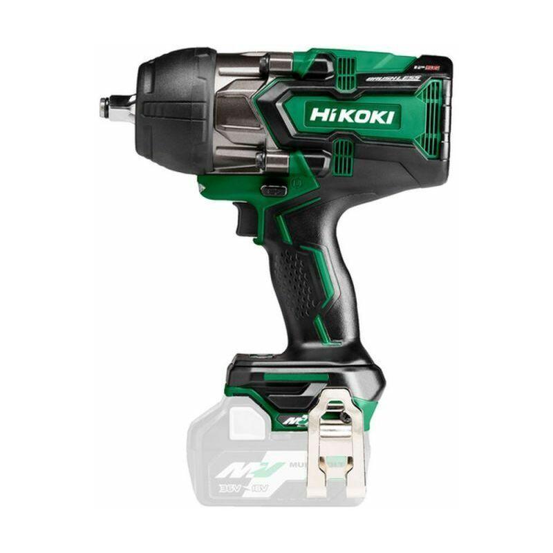 Hikoki WR36DBW2Z Boulonneuse à choc 36 V Multi Volt - carré 1/2? - 12,7 mm