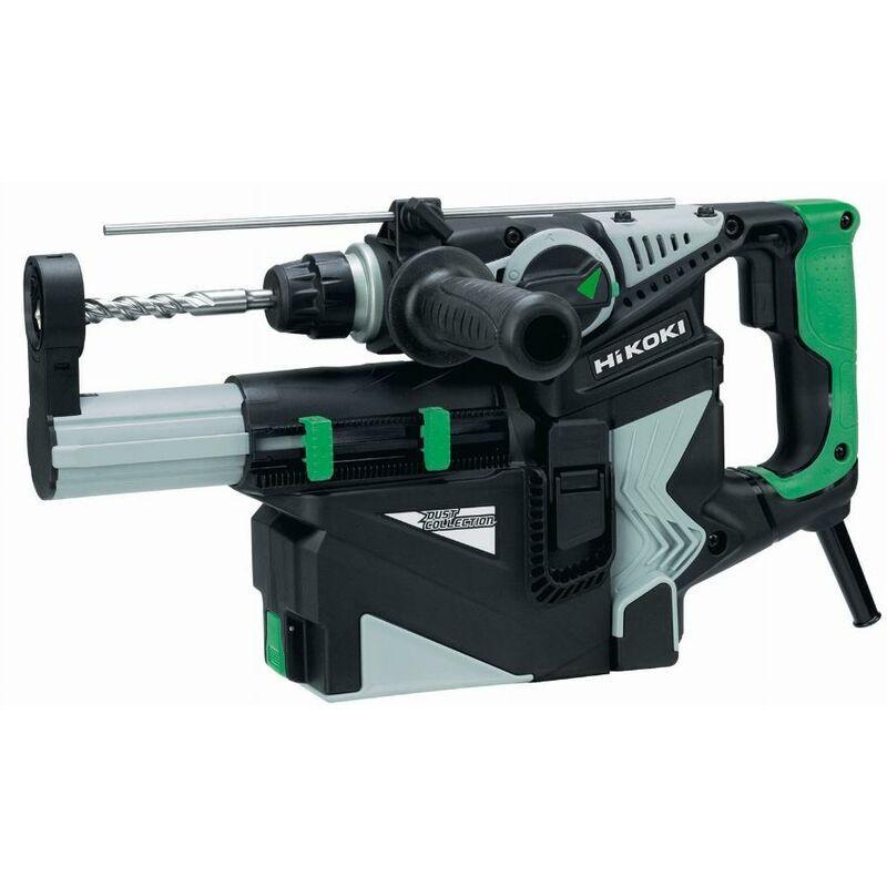 HIKOKI Perforateur SDS+ 720W 28mm 3.2J 3 modes poignée en D, avec système d'aspiration