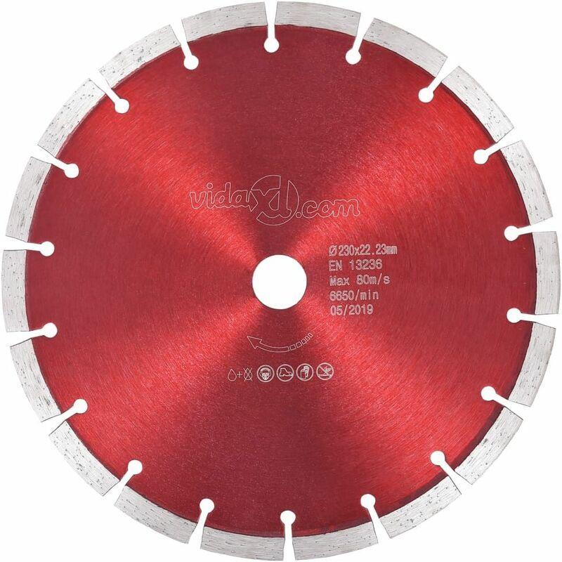 Hommoo Disque de coupe diamanté Acier 230 mm HDV34824