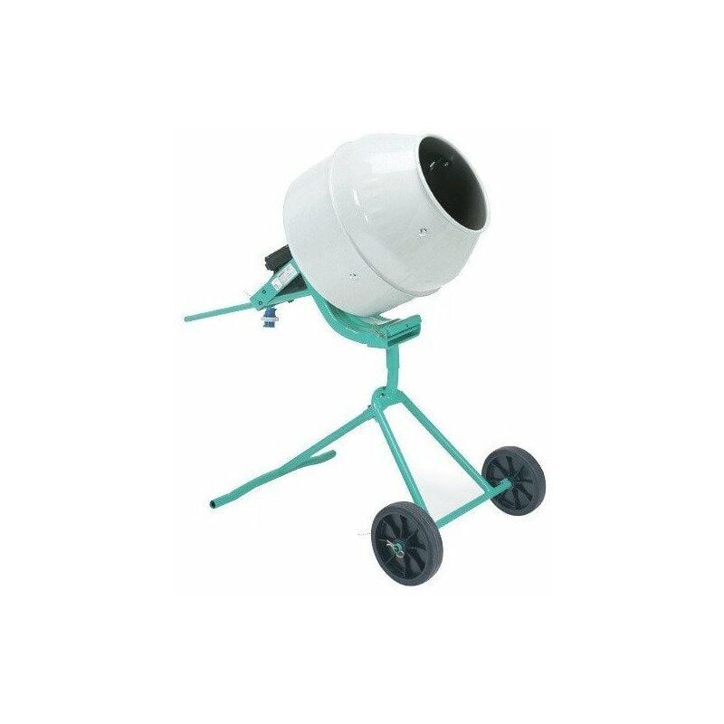 IMER Mini Bétonnière sans couronne cuve acier 134 L malaxage 100 Litres - Minibeta