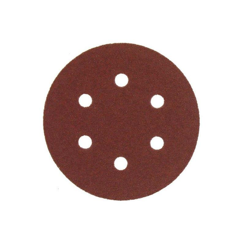 A.e.g - Kit 5 disques abrasifs AEG grain 60 150mm 4932430455