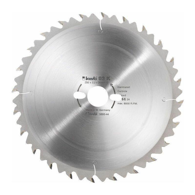 KWB Lame de scie circulaire pour la construction et la table scies ø 300 mm