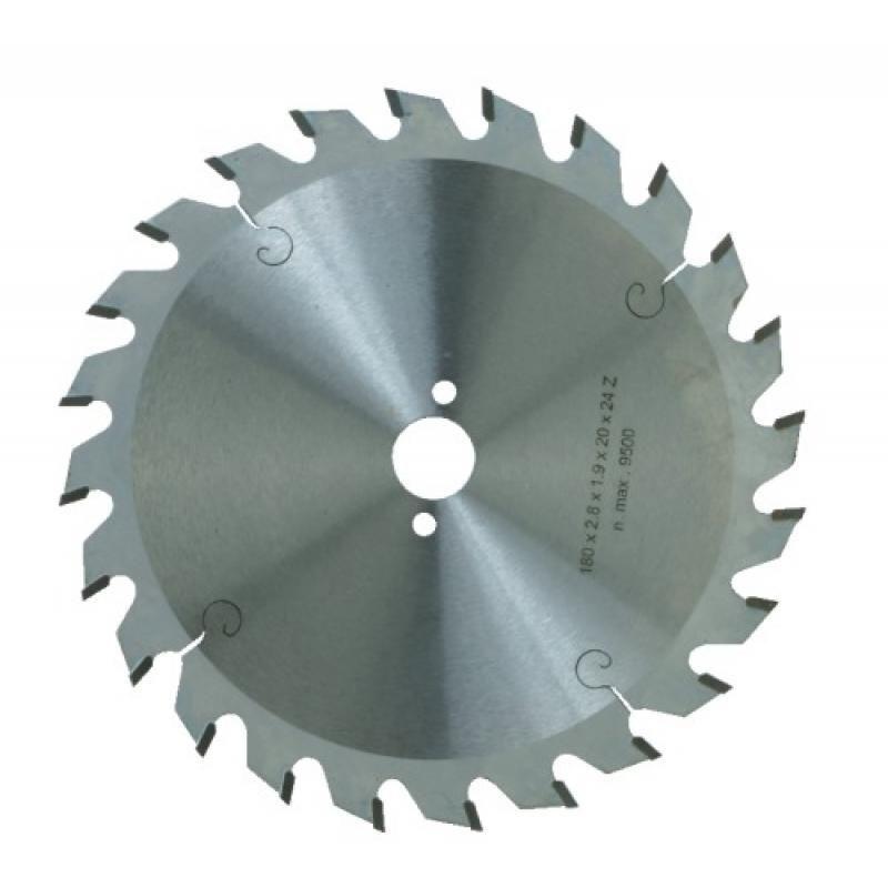 Leman - Lame carbure denture alternée pour débit diamètre 270 mm, alésage 30