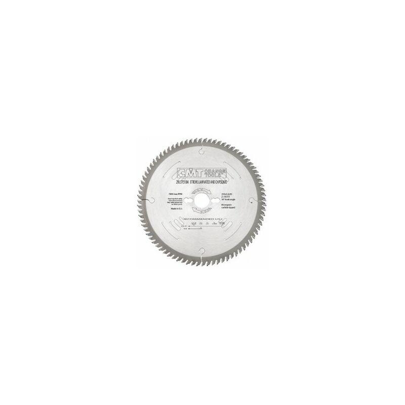 CMT : Lame circulaire carbure industrielle 250 z= 78 denture trapezoidale plate