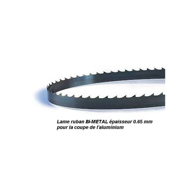 PROBOIS Lame de scie à ruban 1400 mm largeur 13 Bi-métal pour aluminium (Scheppach