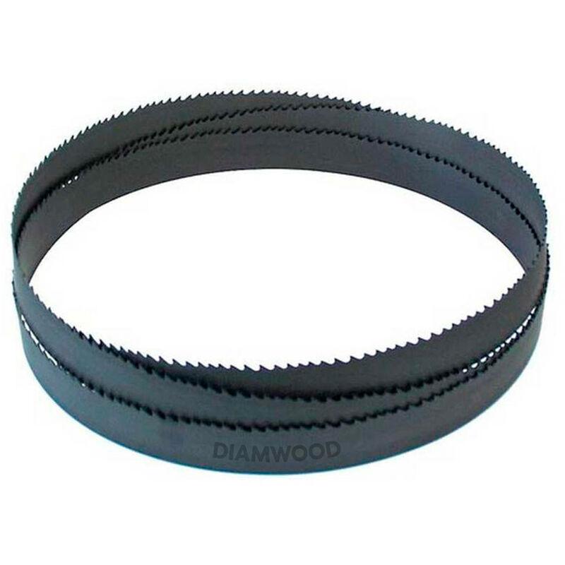 PRESTAMAT Lame de scie à ruban métal PAE 1400 x 13 x 0,65 mm x 18 TPI N pas normal