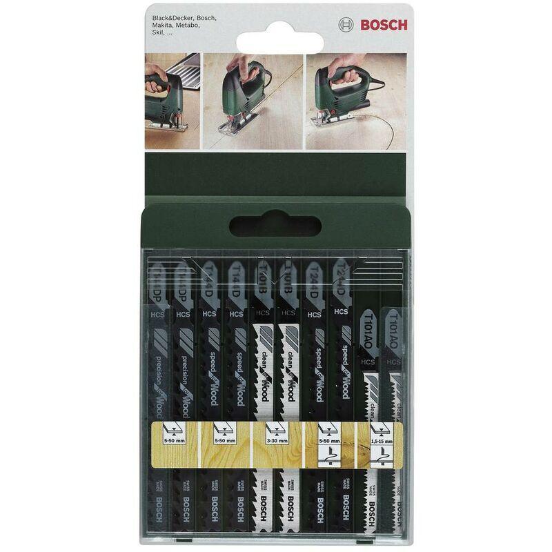 BOSCH ACCESSORIES Lame de scie Bosch Accessories 2609256744 10 pc(s)