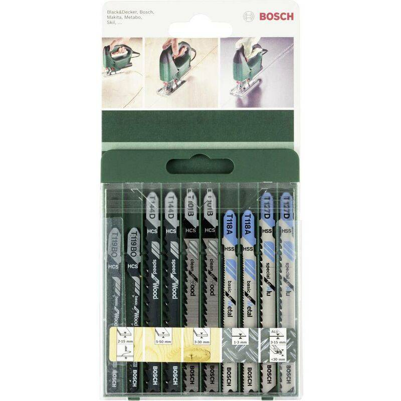 BOSCH ACCESSORIES Lame de scie 2609256746 10 pc(s) - Bosch Accessories