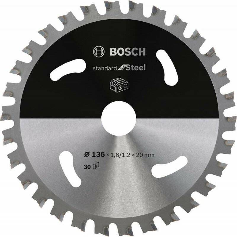 FP - Lame de scie circulaire 136x1.6/1.2x20 Z30 Bosch