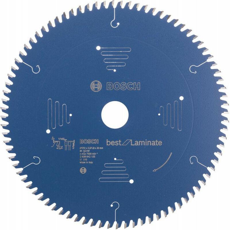 FP Lame de scie circulaire 254x30 mm 84 Z TR-F BoschBest of Laminat