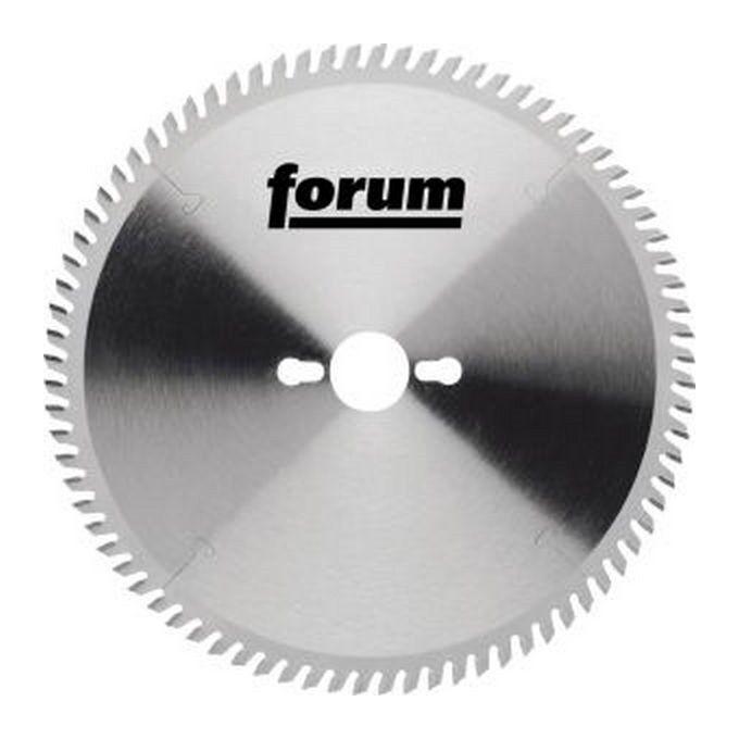 FORUM Lame de scie circulaire, Ø : 280 mm, Larg. : 3,2 mm, Alésage 30 mm, Perçages