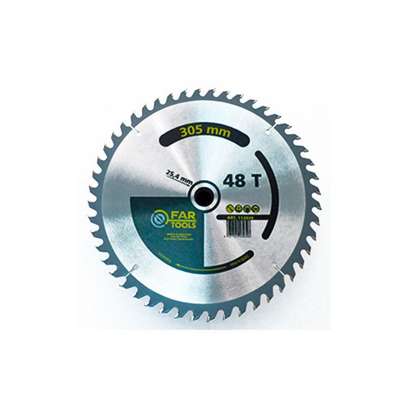 Fartools - Lame de scie circulaire bois D. 305 x Al. 25,4 mm x 38 TPI - -