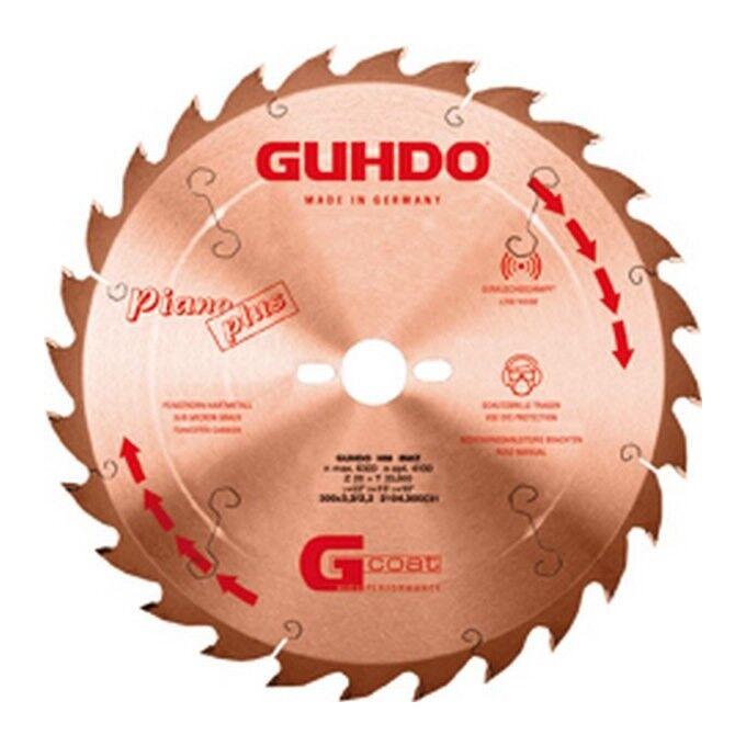 Guhdo - Lame de scie circulaire, Ø : 400 mm, Larg. : 4,0 mm, Alésage 30 mm,