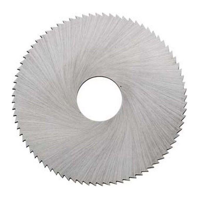 KTS Lame de scie circulaire à métaux en acier à coupe rapide, DIN 1837 A, dents