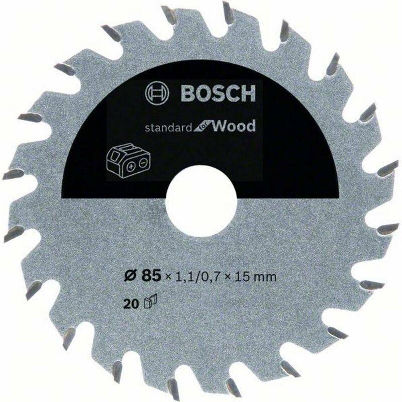 BOSCH ACCESSORIES Lame de scie circulaire Bosch Accessories 2608837666 85 x 15 mm Nombre de