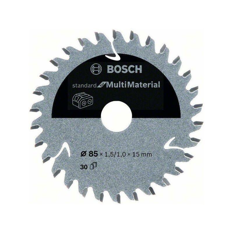 Bosch Lame de scie circulaire Standard for Multimaterial pour scies sans fil 85