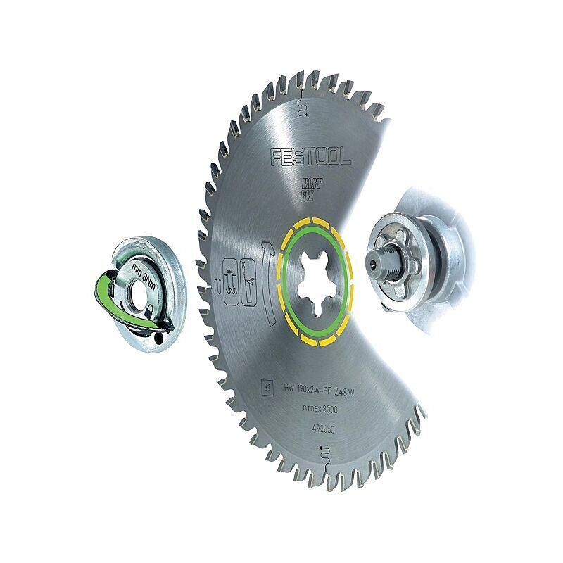 FESTOOL Lame de scie circulaire carbure denture fine alternée diamètre 190 mm alésage