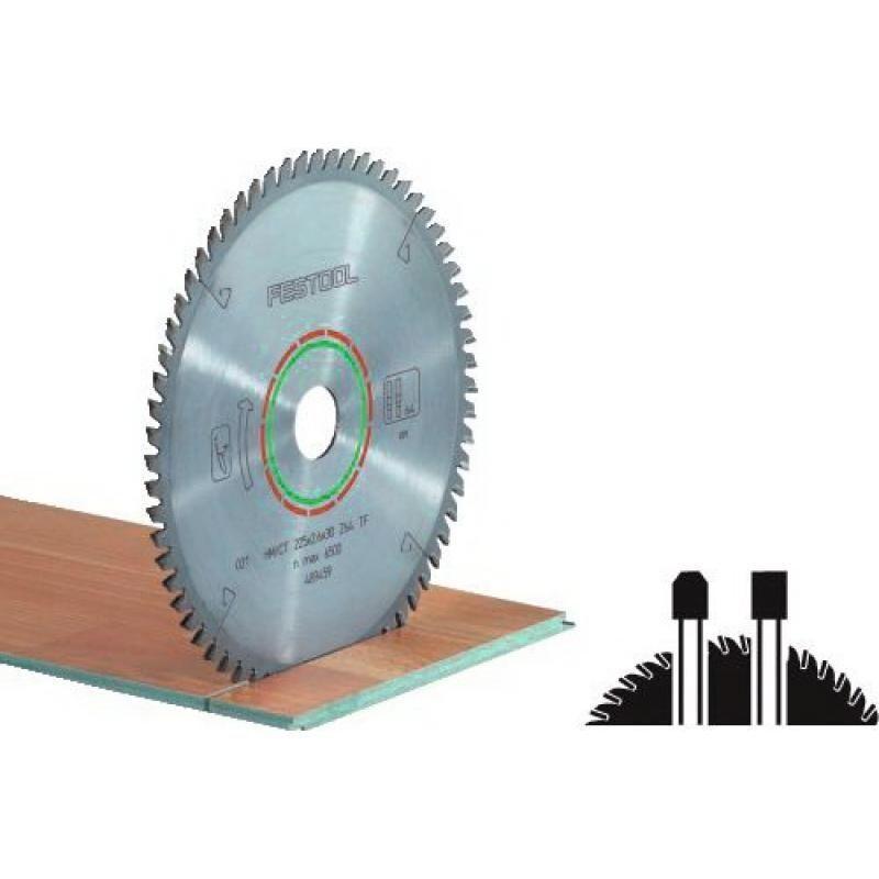 FESTOOL Lame de scie circulaire carbure denture plate trapézoïdale diamètre 210 mm