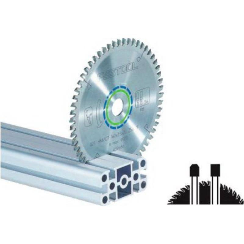 FESTOOL Lame de scie circulaire carbure denture plate trapézoîdale diamètre 210 mm