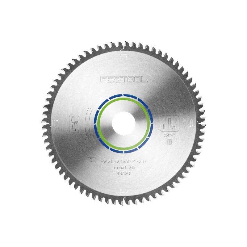 Festool - Lame de scie circulaire carbure denture plate trapézoîdale diamètre