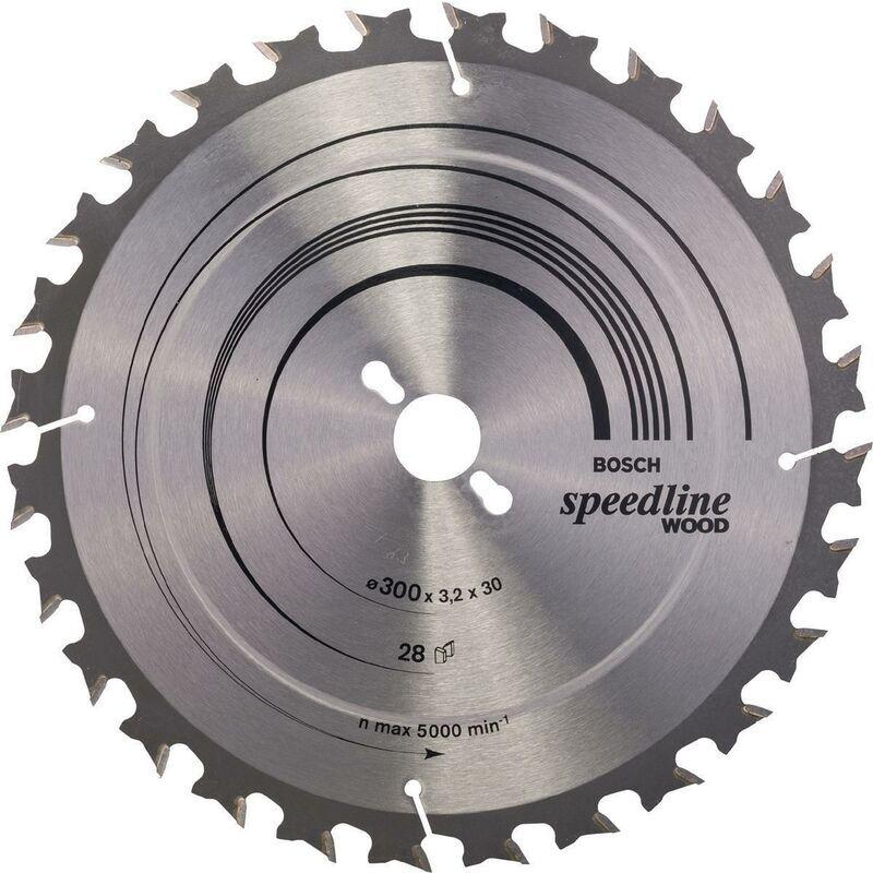 Robert Bosch Power Tools - Lame pour scie circulaire Ø extérieur 300 mm Nombre