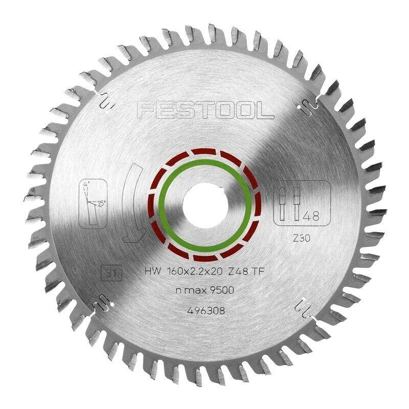 Festool - Lame de scie circulaire denture plate trapézoîdale diamétre 260 mm