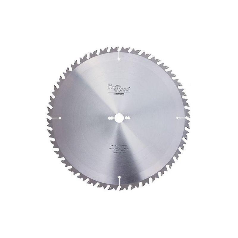 Diamwood Platinum - Lame de scie circulaire HM débit D. 450 x Al. 30 x ép. 4,0