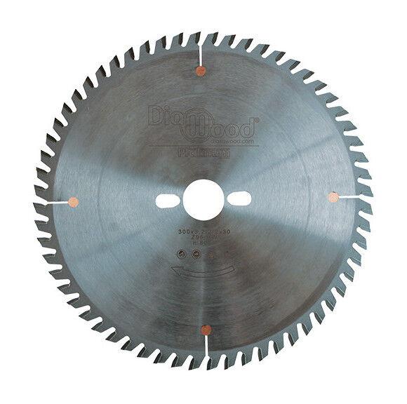 Diamwood Platinum - Lame de scie circulaire HM micrograin finition D. 300 x Al.