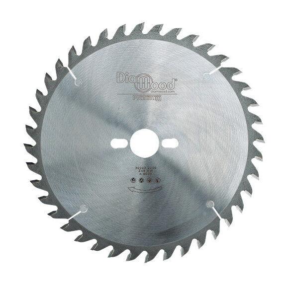 DIAMWOOD PLATINUM Lame de scie circulaire HM micrograin universelle D. 300 x Al. 30 x ép. 3,2 mm