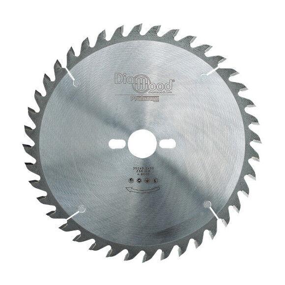 DIAMWOOD PLATINUM Lame de scie circulaire HM micrograin universelle D. 350 x Al. 30 x ép. 3,2 mm