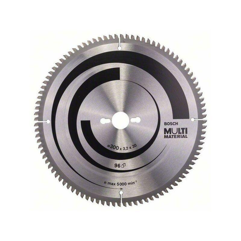 Bosch Lame de scie circulaire Multi Matériel 300 x 30 x 3,2 mm, 96