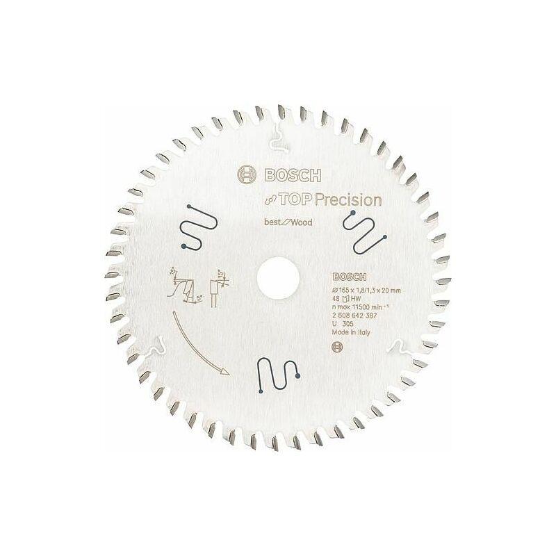 Bosch - Lame de scie circulaire pour aluminium, plastiques, résine époxy et