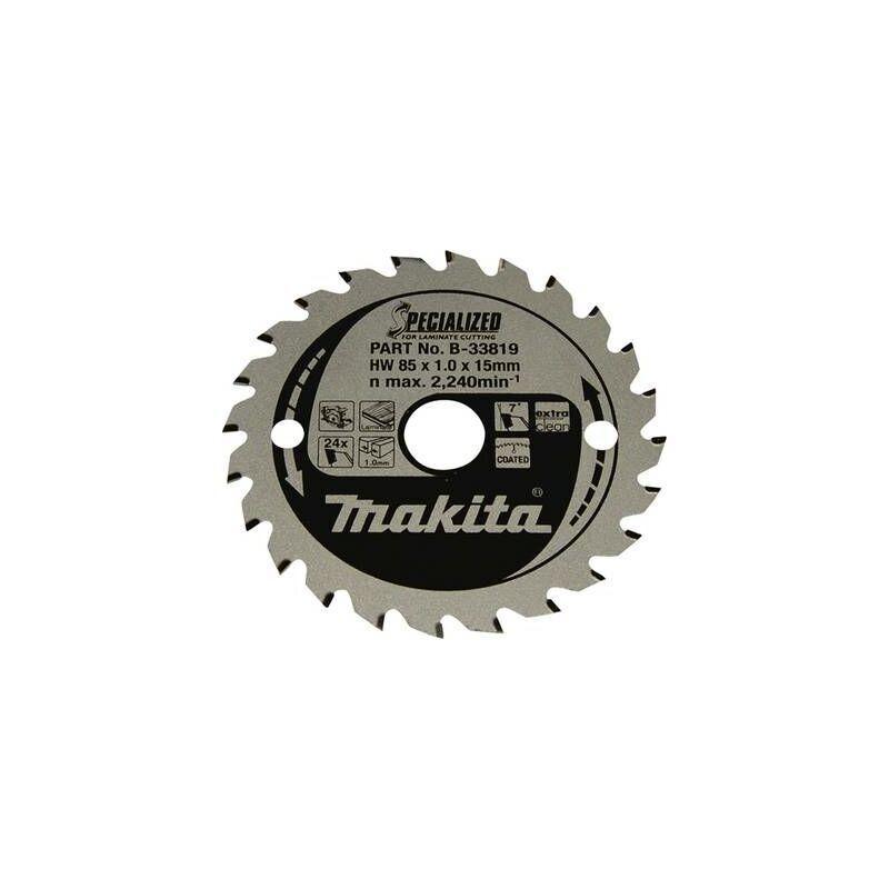 MAKITA Lame de scie circulaire Makita SPECIALIZED B-33819 85 x 15 x 1.0 mm Nombre de