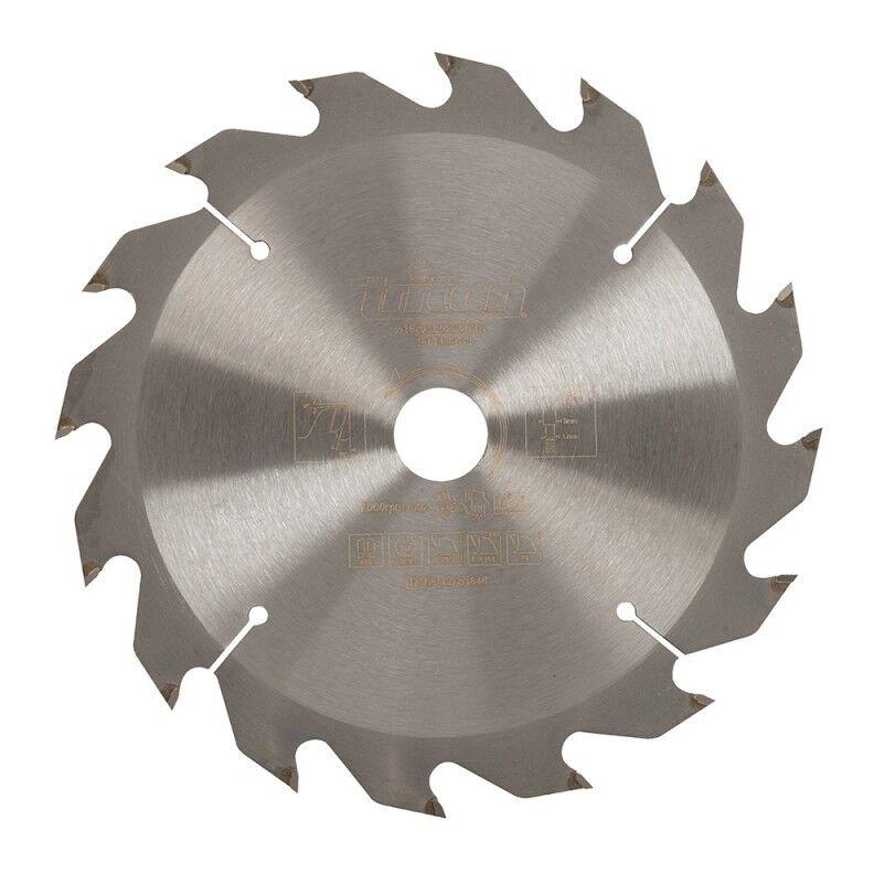 Triton - Lame de scie pour bois de construction - 165 x 20 mm / 16 dents