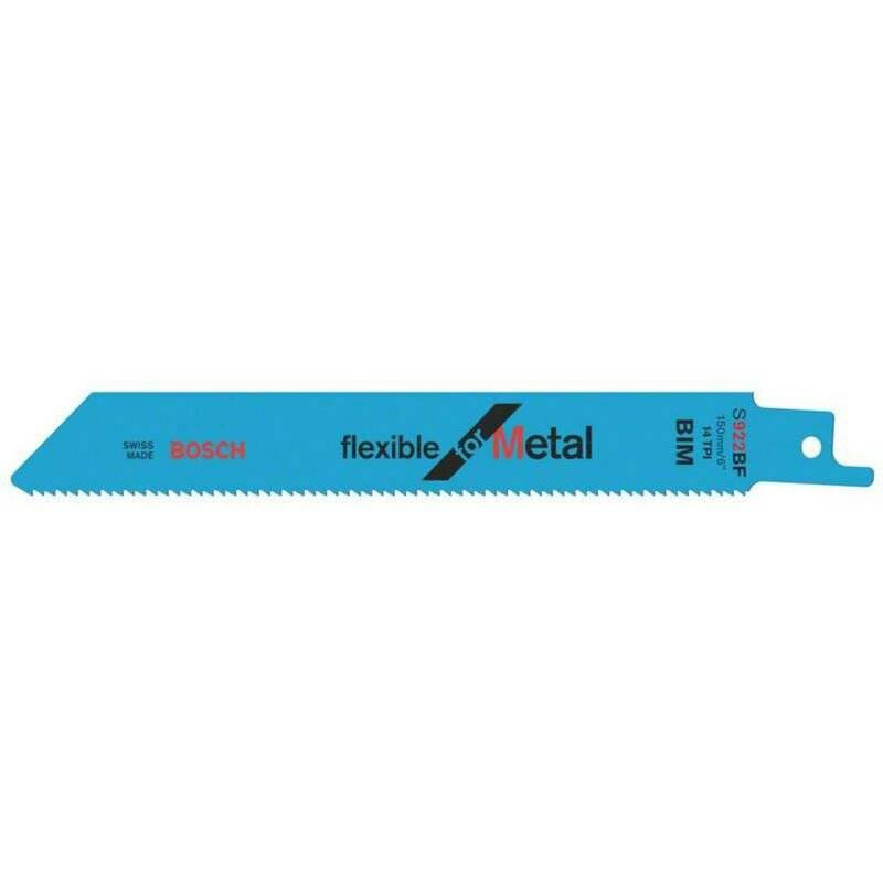 BOSCH ACCESSORIES Lame de scie sauteuse S 922 BF, Flexible for Metal, lot de 5 Bosch Accessories
