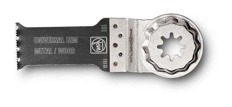 FEIN Lame de scie bois/métal E-Cut Universelle Starlock Plus FEIN - 60x28 mm