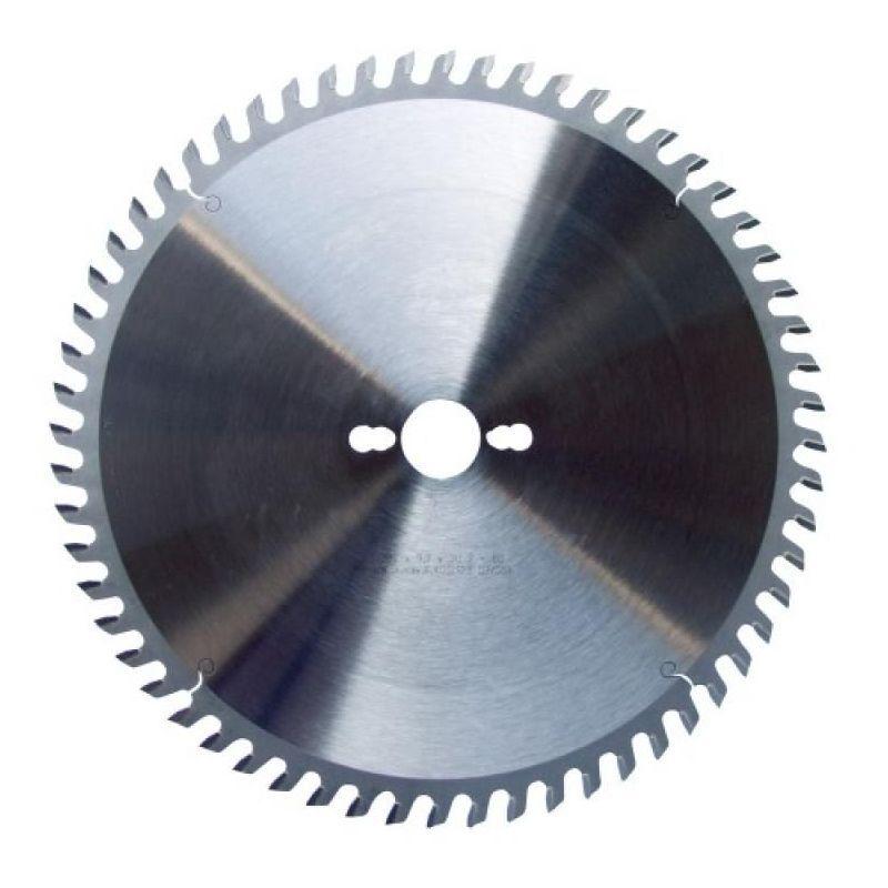 LEMAN Lame de scies circulaires carbure pour aluminium ou PVC, diamètre 250 mm, 80