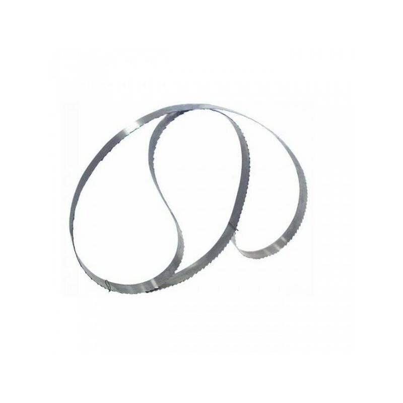 Luxoutils - Lame réaffutable 2300 x 25 x 0,4 mm - Grosse denture - scie a ruban