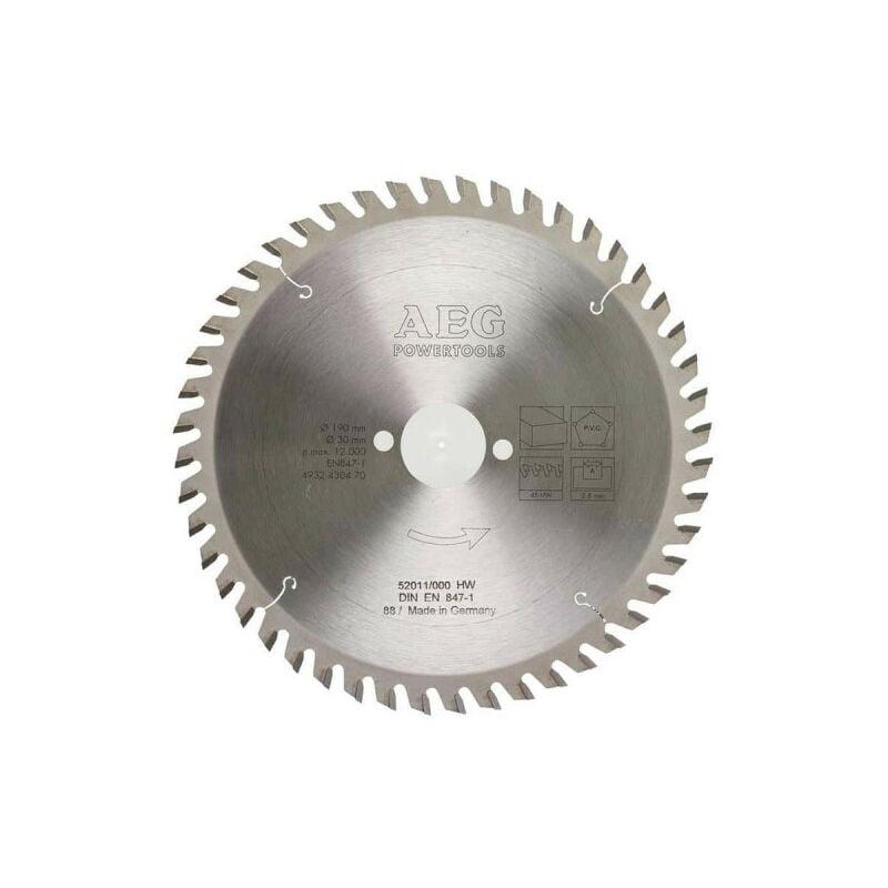 AEG Lame scie circulaire AEG 2.8x190mm 4932430470