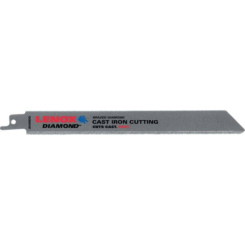 STANLEY BLACK & DECKER DEUTSCHLAND Lame de scie sabre Diamond Grit 800RDG Longueur 200 mm Largeur 19 mm