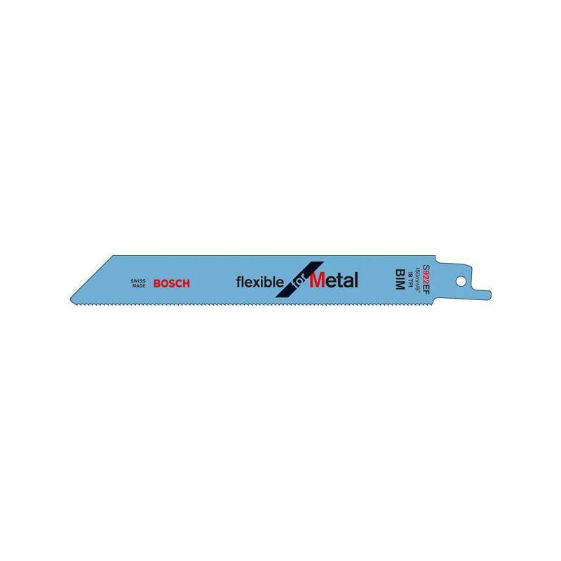 Dewalt - Lame de scie sabre S 922 EF pack de 25 Bosch 1 colis