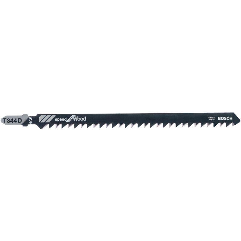BOSCH Lame de scie sauteuse Bosch T344D 152mm - 3 pièces