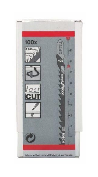 Bosch 2608637881 Lame pour scie sauteuse T 244 D